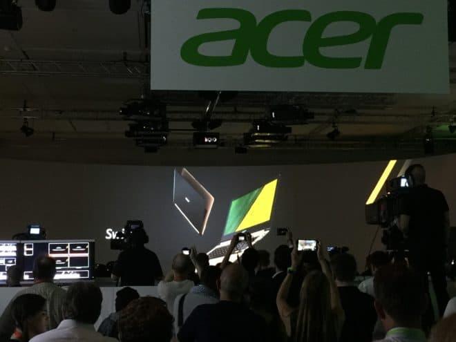 """acer IFA: Acer präsentiert das """"dünnste Notebook der Welt"""" IMG 3638 660x495"""