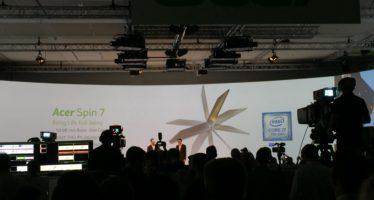 IFA: Acer Spin 7 vorgestellt – dünnstes Convertible mit neuem Intel Prozessor
