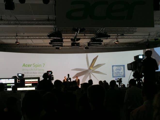 dv-c acer spin 7 acer spin 7 IFA: Acer Spin 7 vorgestellt – dünnstes Convertible mit neuem Intel Prozessor IMG 3641 660x495