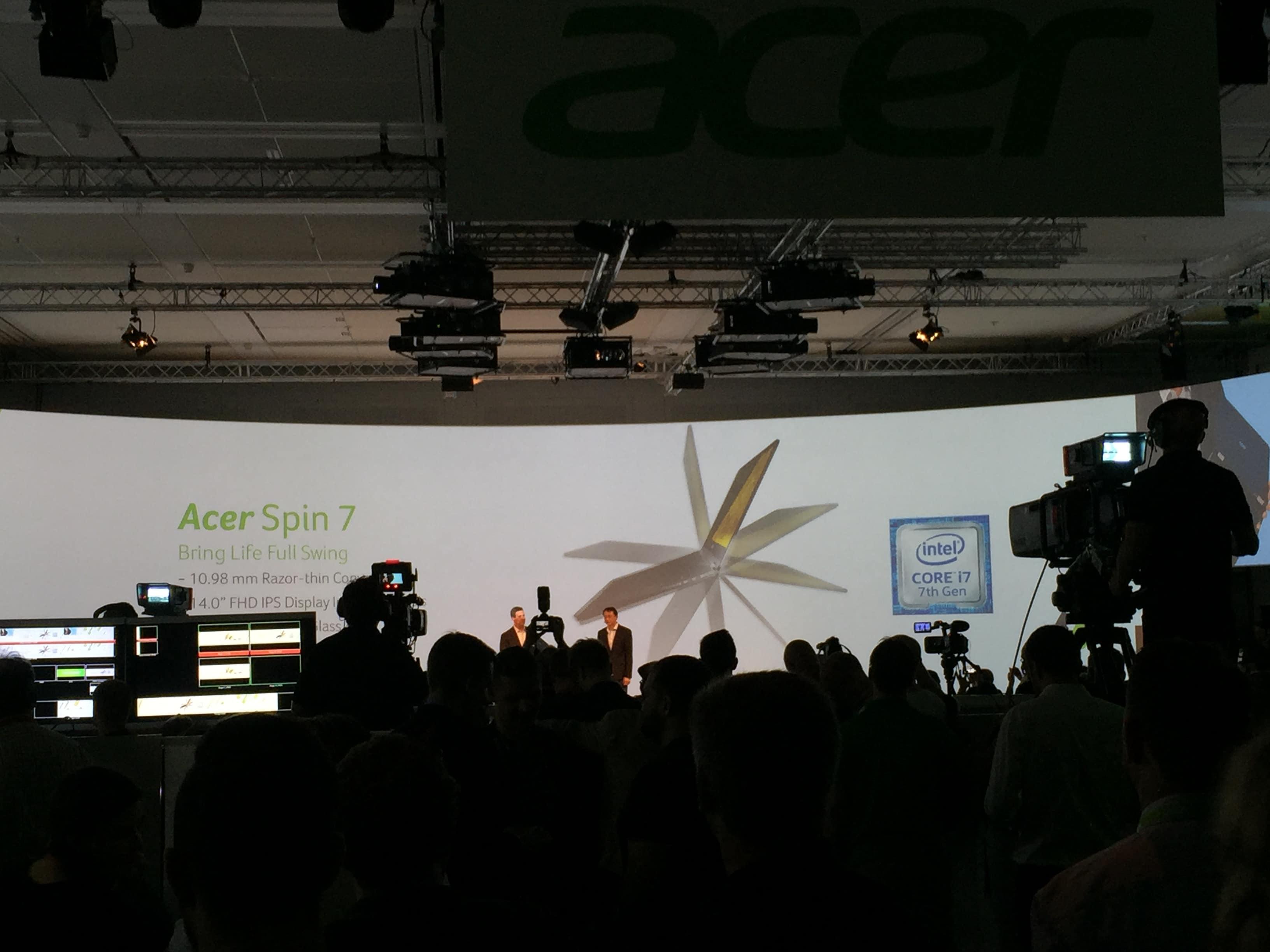 ifa acer spin 7 vorgestellt d nnstes convertible mit neuem intel prozessor. Black Bedroom Furniture Sets. Home Design Ideas