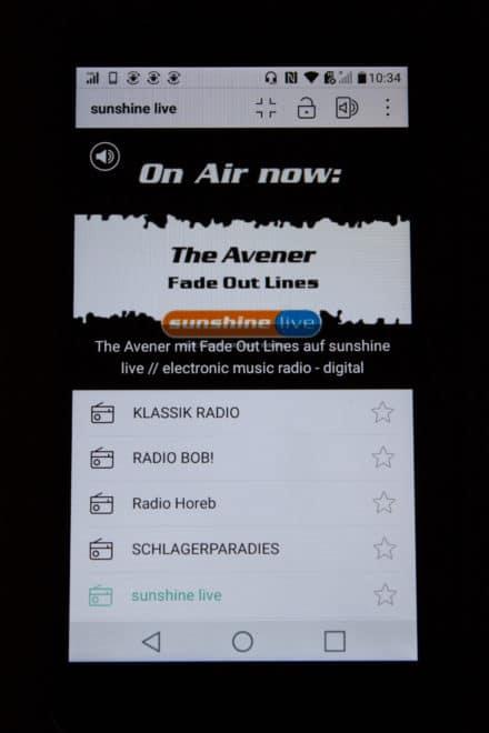 lg stylus 2 Getestet: Das LG Stylus 2 mit DAB+ – Smartphone mit medialer Zukunft LG Stylus2 DABScreen Sunshinelive aktueller Song 440x660