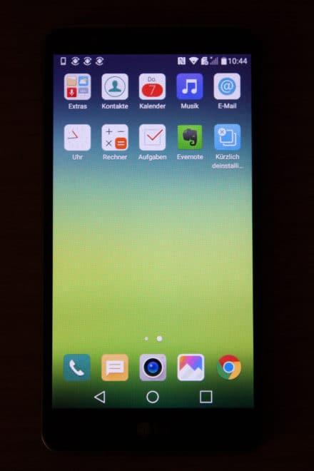 lg stylus 2 Getestet: Das LG Stylus 2 mit DAB+ – Smartphone mit medialer Zukunft LG Stylus2 Homescreen Seite2 440x660
