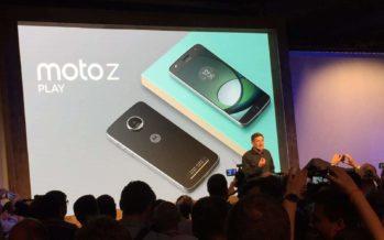 Moto Z Play: Smartphone mit großem Akku und Hasselblad-Kameratod auf der IFA