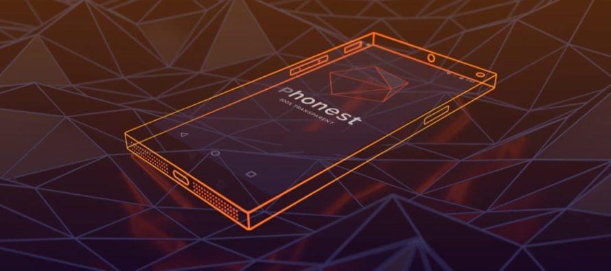 Transparentes Highend-Smartphone Phonest vorgestellt
