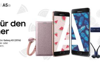Samsung Sommerwochen: sparen mit kostenlosem Zubehör und Cashback-Aktion