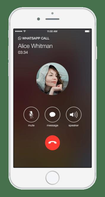 dv-c whatsapp call WhatsApp WhatsApp Call für iOS bekommt einen Anrufbeantworter WhatsApp Call 354x660