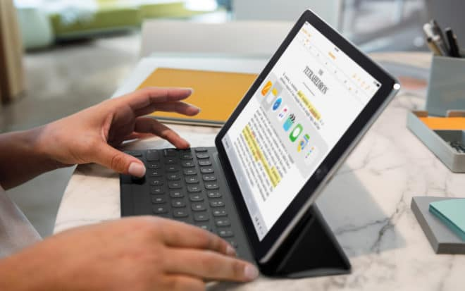 dv-c ipad pro smart keyboard iPad Pro iPad Pro Smart Keyboard nun auch auf Deutsch erhältlich iPad Pro Smart Keyboard 660x413