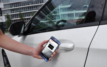 Vodafone und Daimler bringen den digitalen Autoschlüssel