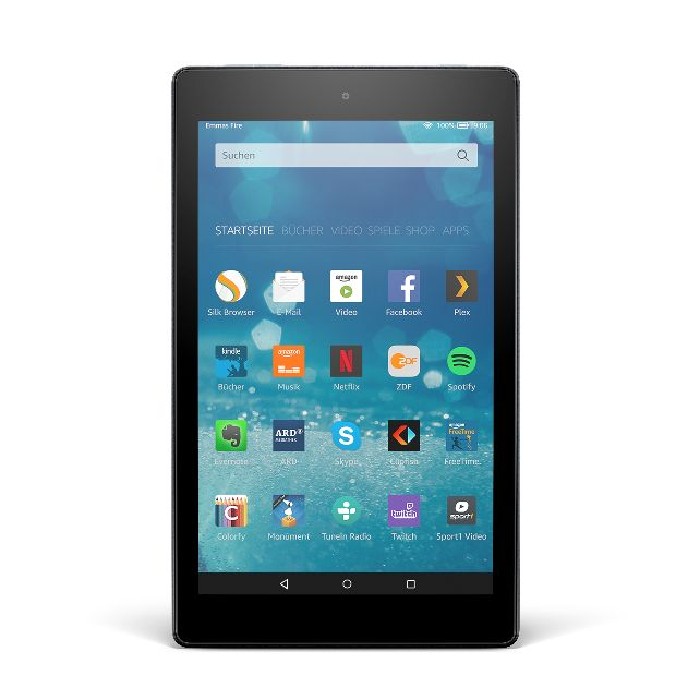 dv-c amazon fire hd 8 Fire HD 8 Amazon bringt verbesserte Generation des Fire HD 8 auf den Markt Amazon Fire HD 8