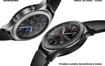 Samsung Gear S3: Smartwatch mit bis zu vier Tagen Akkulaufzeit