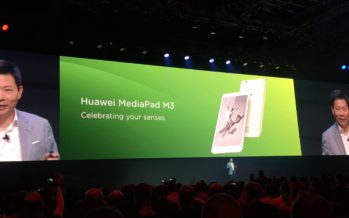 IFA 2016: Huawei MediaPad M3 mit optionalem LTE vorgestellt