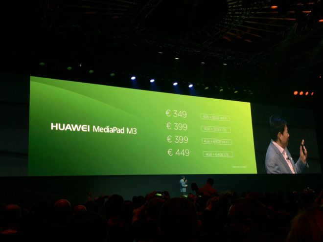IMG_1227 huawei mediapad m3 IFA 2016: Huawei MediaPad M3 mit optionalem LTE vorgestellt IMG 1227 e1472737240876 660x495