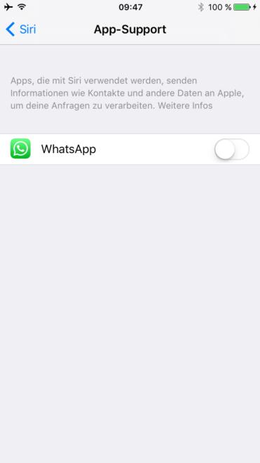 whatsapp WhatsApp bekommt Siri Integration für iOS 10 IMG 1376 371x660