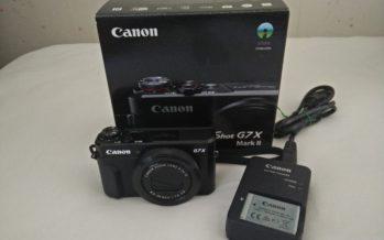 Canon Powershot G7X Mark II im Test – die Kompaktkamera mit Smartphone-App