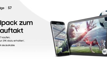 Bundle-Aktion: Samsung Galaxy S7 (Edge) mit vergünstigtem Tablet