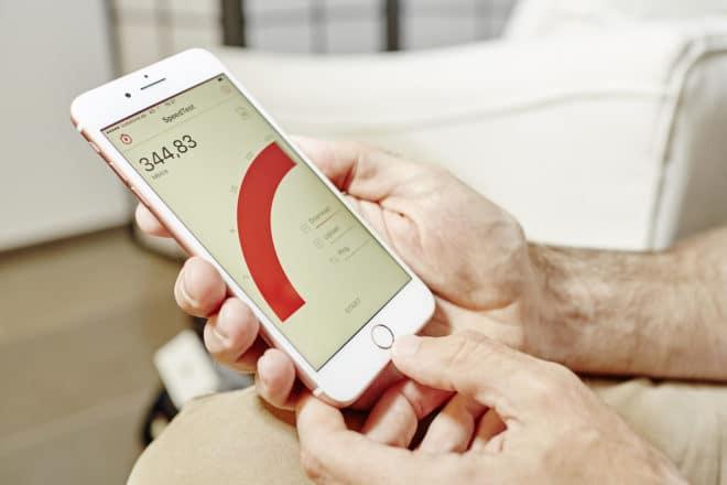 lo-c vodafone vodafone Vodafone schaltet schnelles LTE Netz in 30 Städten frei Vodafone IPhone7 Speedtest 660x440