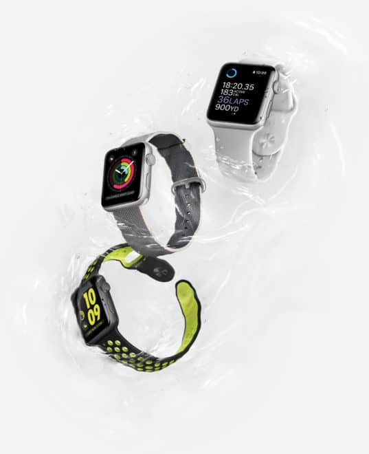 dv-c apple watch series 2 apple watch Apple Watch Series 2 vorgestellt – mehr Sport, wenig Innovation Watch Hero Water 3 Up PR PRINT 537x660