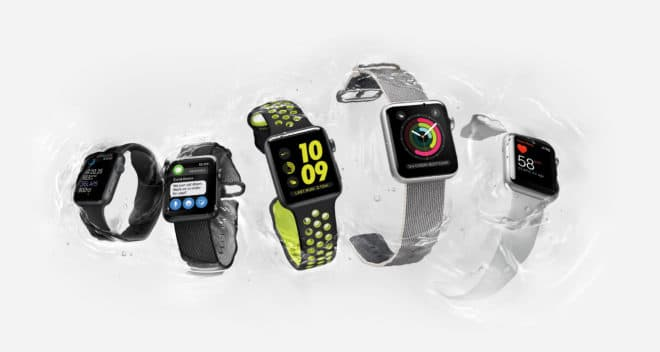 dv-c apple watch series 2 apple watch Apple Watch Series 2 vorgestellt – mehr Sport, wenig Innovation Watch Hero Water 5 Up PR PRINT 660x352