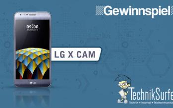 Gewinnspiel: steige mit dem LG X cam in die Smartphone-Kamerawelt ein