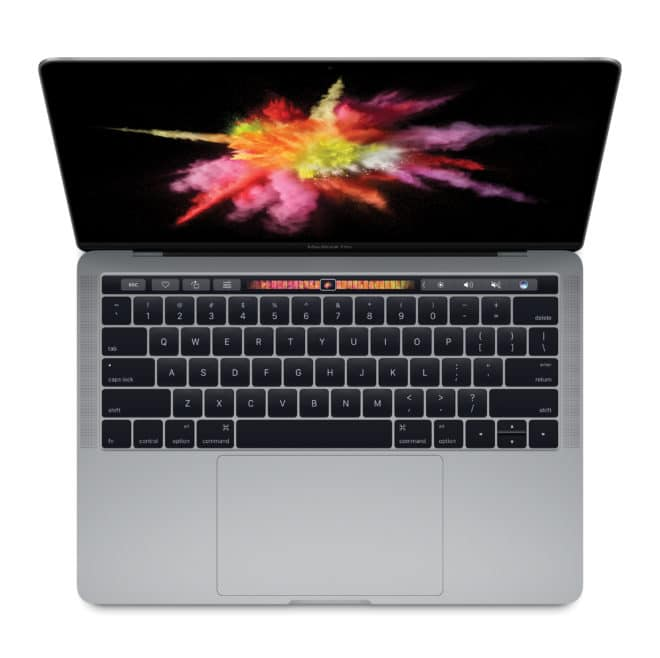 dv-c macbook pro (2016) touchbar Mac Phil Schiller: Ein Touchscreen am Mac ist absurd MBP13RD TB 2016 SpGry Orange PR 00 0008 052 PRINT 660x658