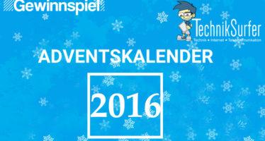 Advent, Advent, ein Lichtlein brennt – der Countdown bis zum TechnikSurfer Adventskalender läuft