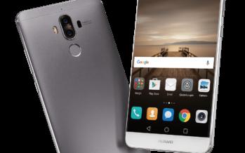 Huawei stellt neues Flaggschiff Mate 9 und Fitness-Band FIT vor