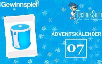 Adventskalender Tag 7: Tragbarer Lautsprecher für alle Weihnachtslieder