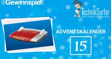 Adventskalender Tag 15: Highspeed-Internet mit AVM
