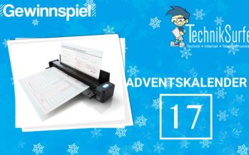 Adventskalender Tag 17: der Scanner für to go