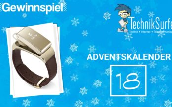 Adventskalender Tag 18: das ultimative Fitness-Wearable für Jedermann