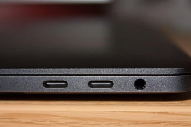 macbook Angetoucht: Das MacBook Pro mit Touch Bar im Test USB C und Klinke 660x440