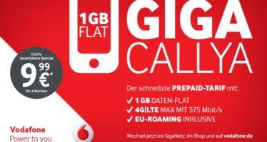 Vodafone stockt nächste Woche CallYa Tarife auf [UPDATE]