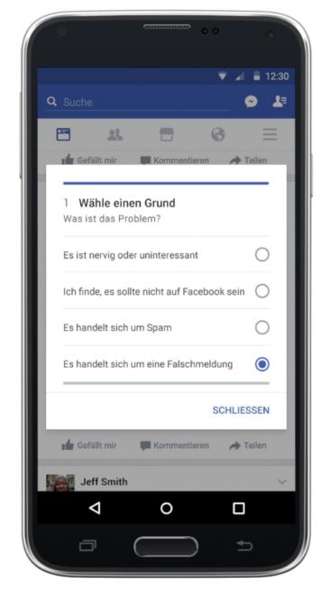 Facebook Facebook bekämpft Fake News bald auch in Deutschland ger pic3 366x660