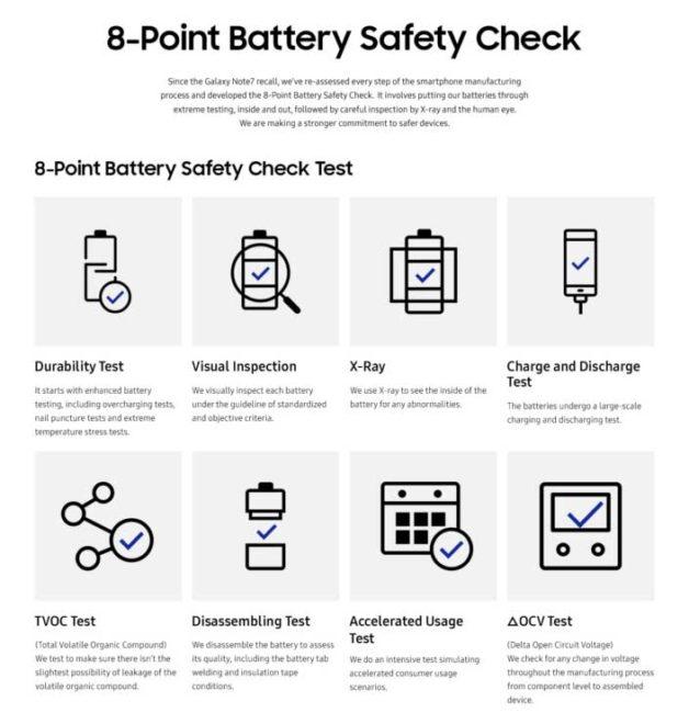Samsung Samsung: Note 7 Krise offiziell geklärt, Galaxy S8 kommt erst später samsung akku ckeck 628x660