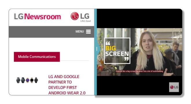LG G6 LG G6 bekommt 18:9 FullVision Display – neue Oberfläche soll verschiedene Features anbieten Bild LG UX 6