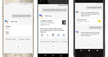 Google Assistant startet auf allen Android Geräten durch