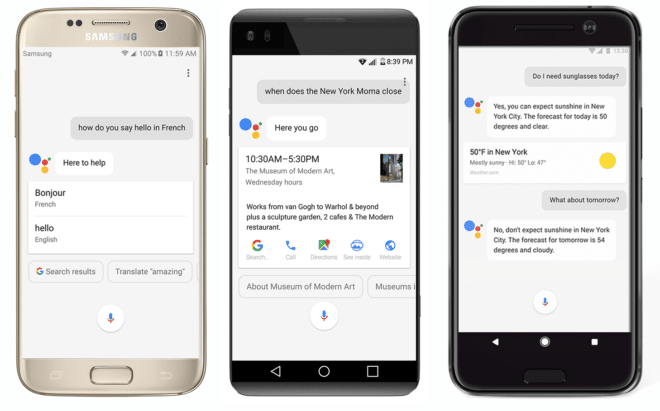 Google Assistant Google Assistant startet auf allen Android Geräten durch assistantphones