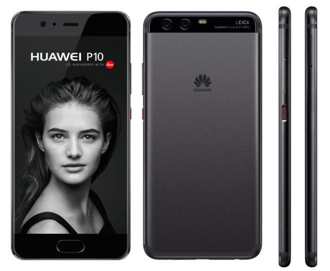 Huawei P10 MWC 2017: Huawei P10 und Huawei P10 Plus präsentiert huaweip10 black 660x543