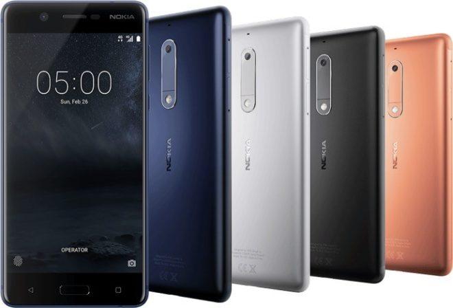 Nokia 5 nokia Nokia stellt neue Geräte auf dem MWC 2017 vor nokia 5 660x448