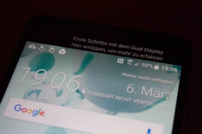 15 - HTC Ultra - Dual Display (Erste Schritte) htc u ultra Das HTC U Ultra im Test – riesiges Smartphone ohne Killer-Feature 15 HTC Ultra Dual Display Erste Schritte 660x440