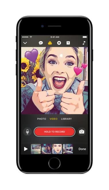 Apple Clips Apple Clips Apple Clips: Snapchat-ähnliche Videoapp kommt im April Apple Clips 380x660