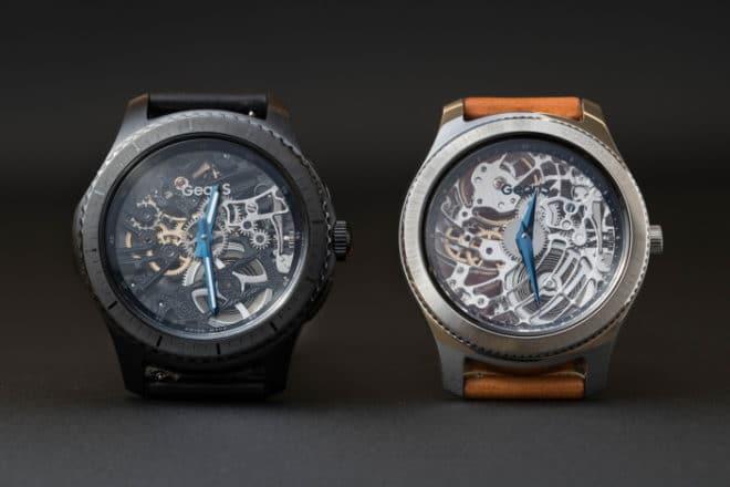 Samsung Baselworld 2017: Samsung zeigt Smartwatch-Konzepte mit mechanischen Uhrwerken Baselworld 2017 Gear S3 Main 1 660x440