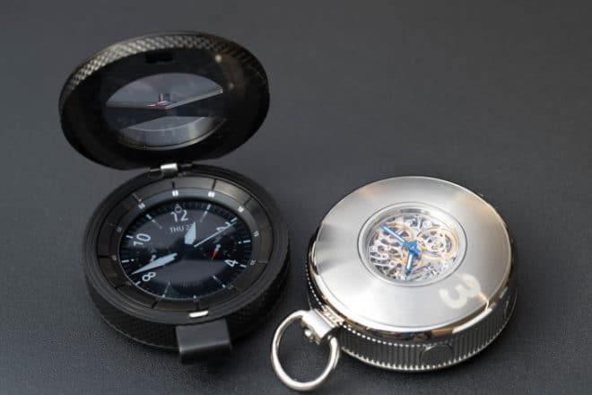 Samsung Baselworld 2017: Samsung zeigt Smartwatch-Konzepte mit mechanischen Uhrwerken Baselworld 2017 Gear S3 Main 3 660x440