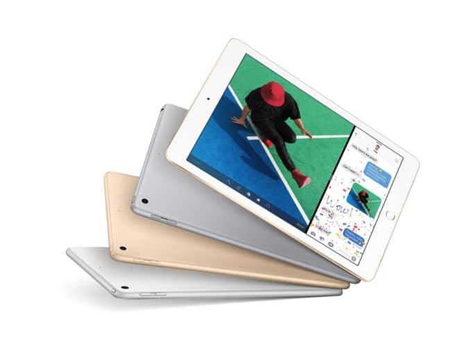 Das iPad (2017) apple Neue Apple-Modelle ab Freitag verfügbar – vom iPad und iPhone bis zur Apple Watch iPad Hero Fan PR PRINT 660x508