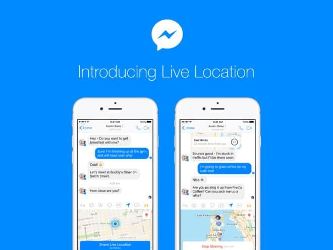 Live Location beim Facebook Messenger Facebook Messenger Facebook Messenger bekommt Live Location livelocation newsroom 660x495