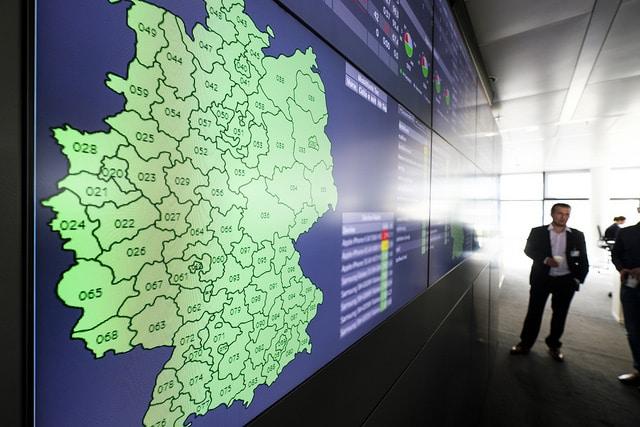 Vodafone Support Deutschlandgrafik vodafone CeBIT 2017: Vodafone bläst zum Sturm auf – das GIGANETZ vodafone support
