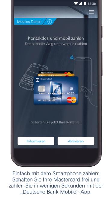 Deutsche Bank Mobile - mobiles Bezahlen Deutsche Bank Deutsche Bank schaltet mobiles Bezahlen für Android frei Deutsche Bank mobiles Bezahlen 372x660