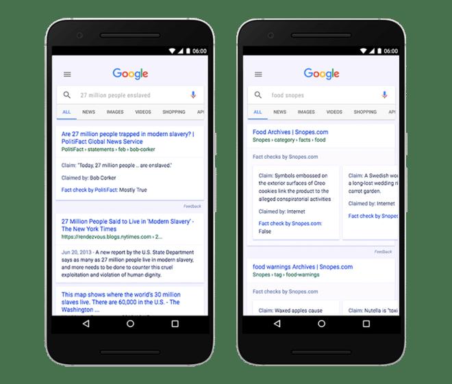 Google Faktenlabel fake news Facebook und Google gehen in Deutschland jetzt akiv gegen Fake News vor FactCheck Apr7