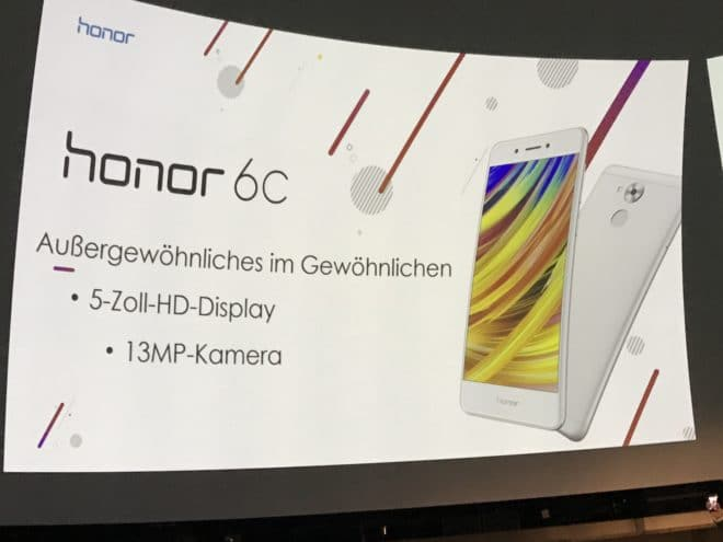 Honor 6C honor 8 pro HonorDay: Honor 8 Pro und Honor 6C starten in Deutschland Honor 6C 660x495