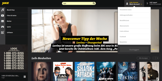 juke Review: Juke! – der etwas andere Musik-Streaming-Dienst Start1 660x330